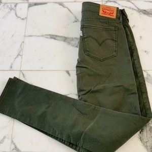 Levi's Women's 711 Skinny Splatter Jeans Sz 27